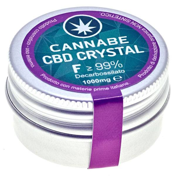 CBD Crystal 99% Fitocomplesso