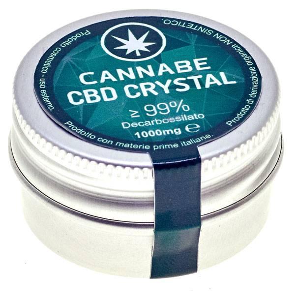CBD Crystal 99% Clear
