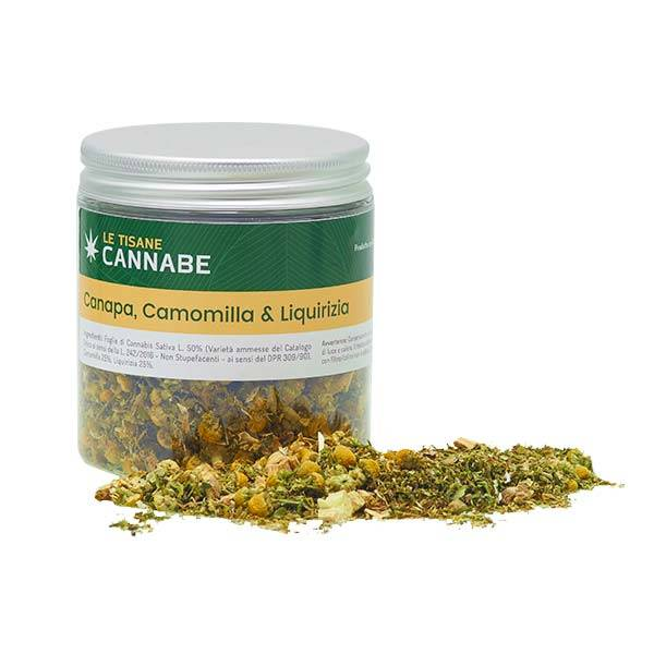Herbal Mix Camomilla e Liquirizia