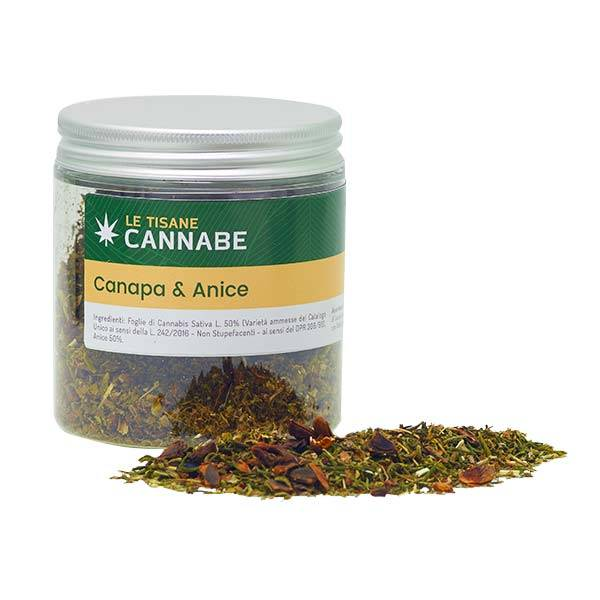 Herbal Mix Canapa e Anice
