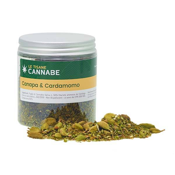 Herbal Mix Canapa e Cardamomo