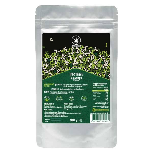 Proteine di Canapa in Polvere