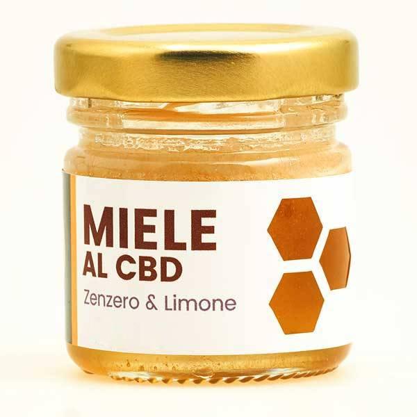 Miele zenzero e limone CBD 0,5%