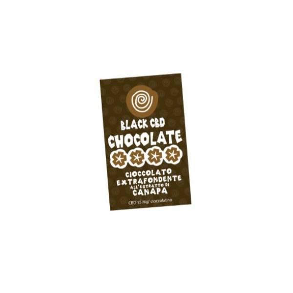 Black CBD Chocolate - 5pz