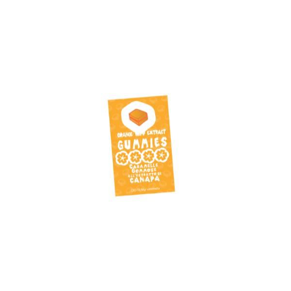 Orange Hemp Extract Gummies - 10 pezzi