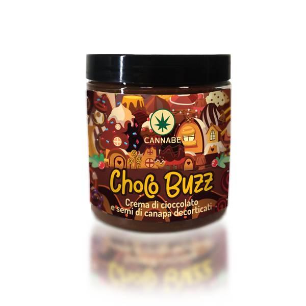 Choco Buzz - Crema di Cioccolato e Semi di Canapa Decorticati