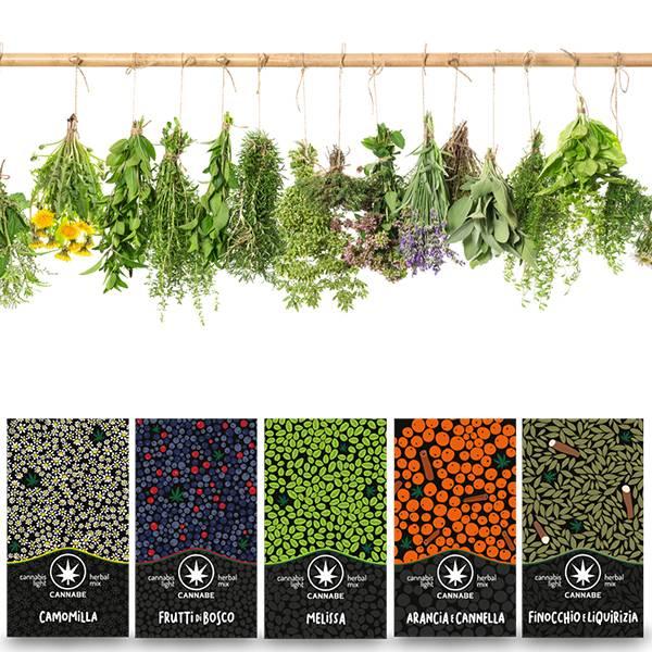 Kit Herbal Mix 4+1 (Omaggio )